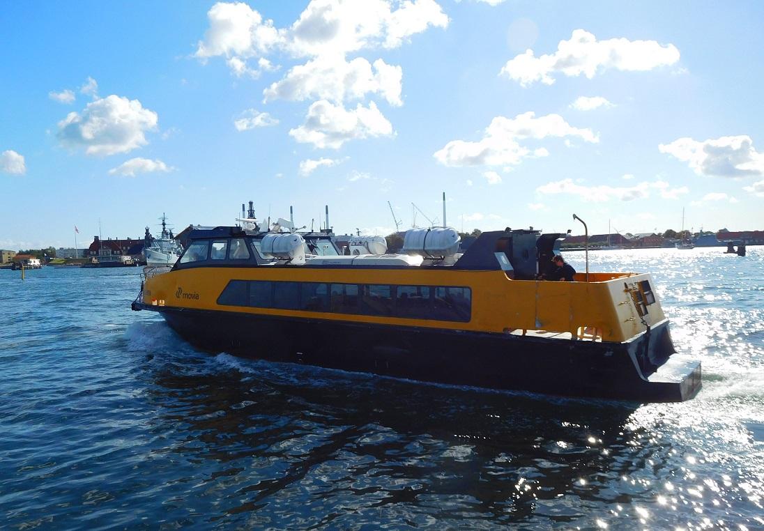 哥本哈根的交通船