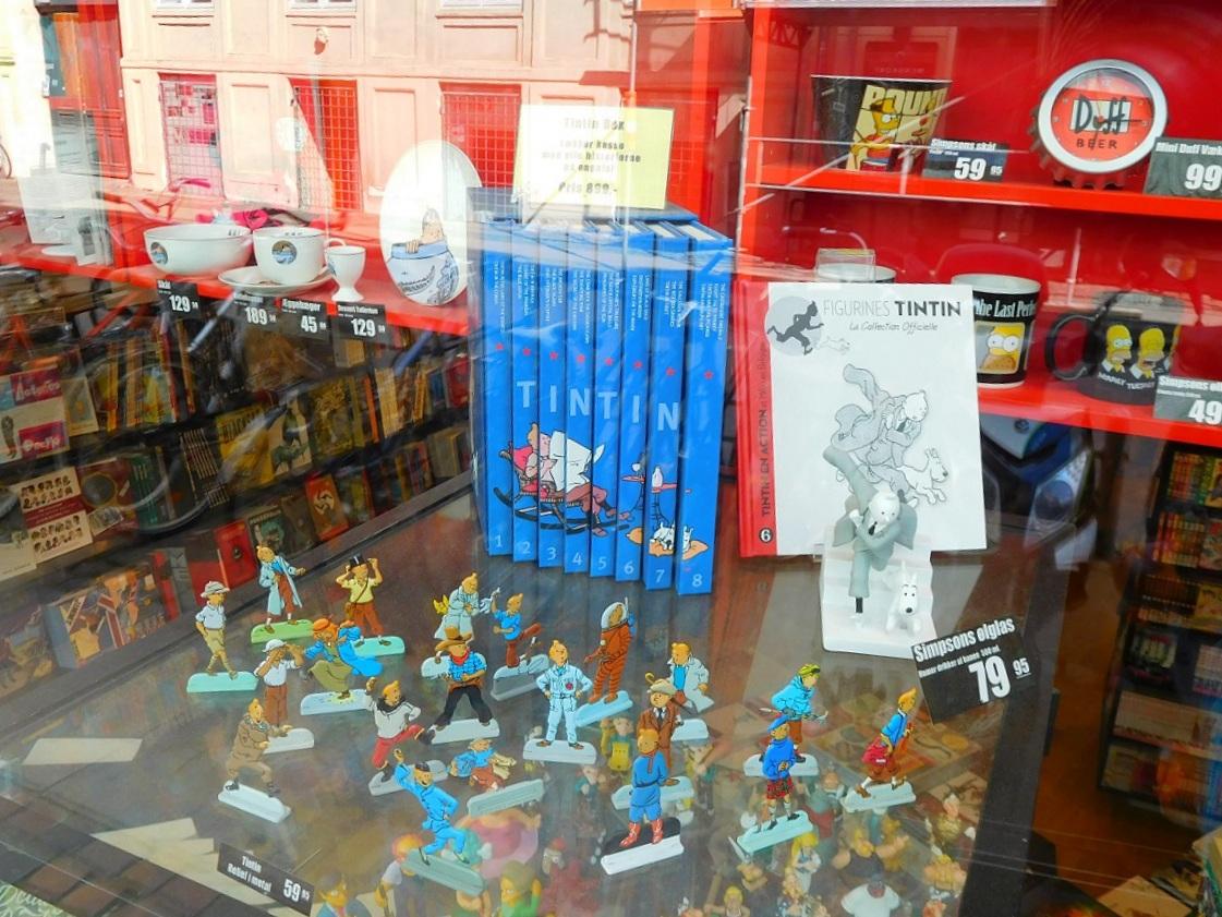也是丹麥特產 - 丁丁 (Tintin)