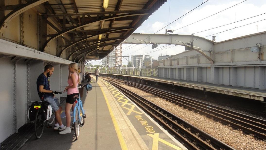 就是一個超簡單的火車站