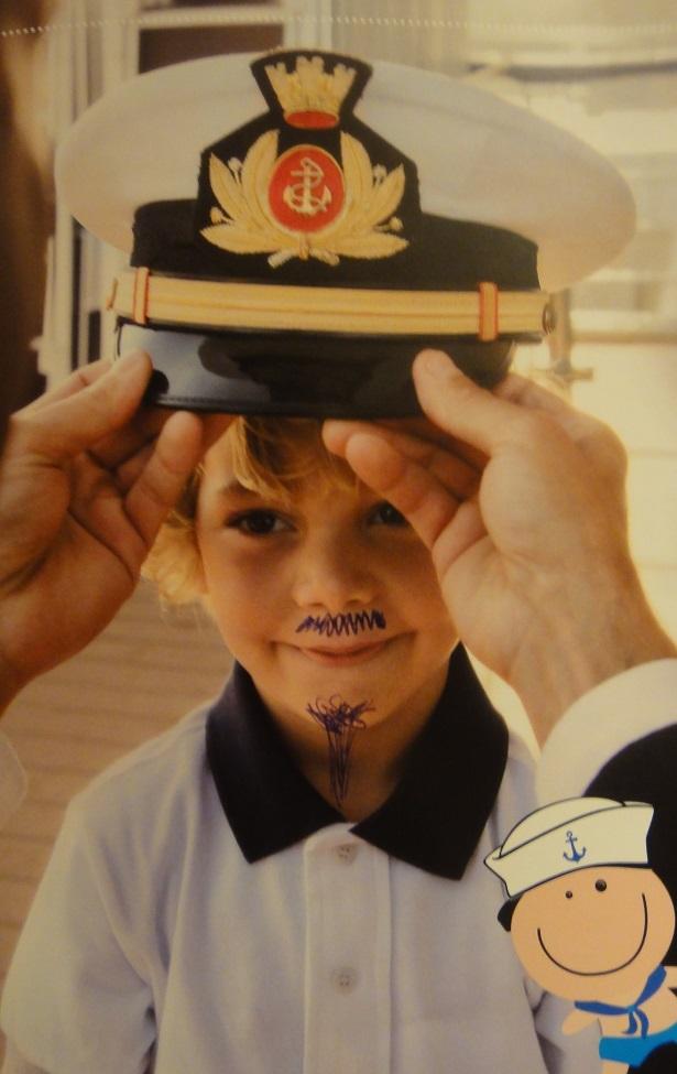 除了機長夢之外,小朋友也可以有船長夢的~