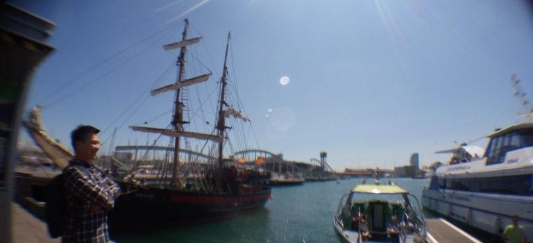 地中海游轮蜜月(DAY2~3) 西班牙 巴赛隆那