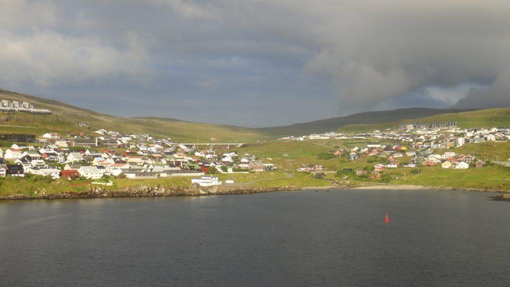 Torshavn 的碼頭景色