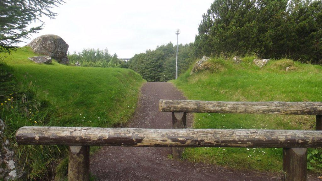 公園的入口竟然如此簡單 (這樣就夠了,不是嗎? ^^)
