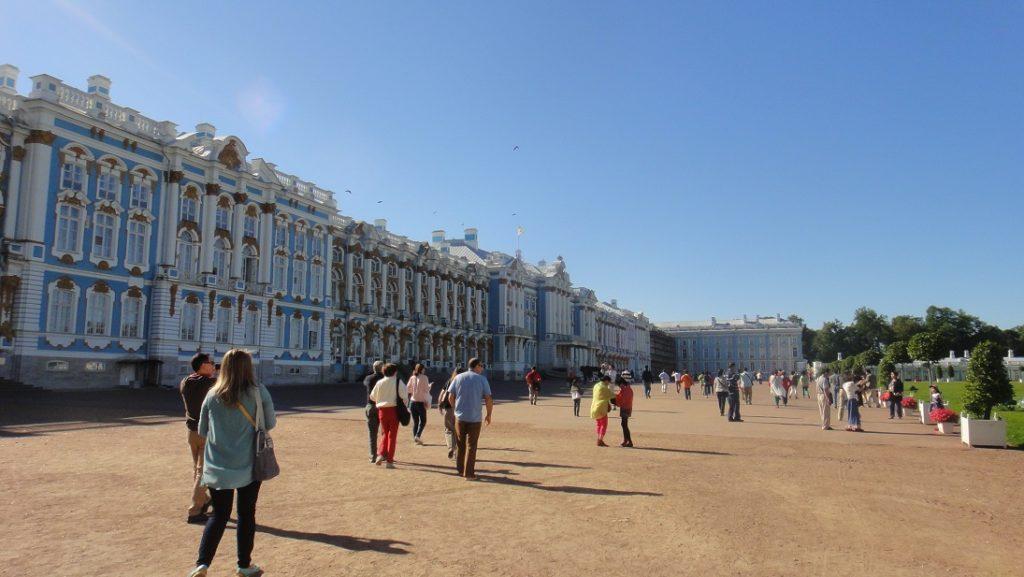 Catherine palace 佔地非常遼闊
