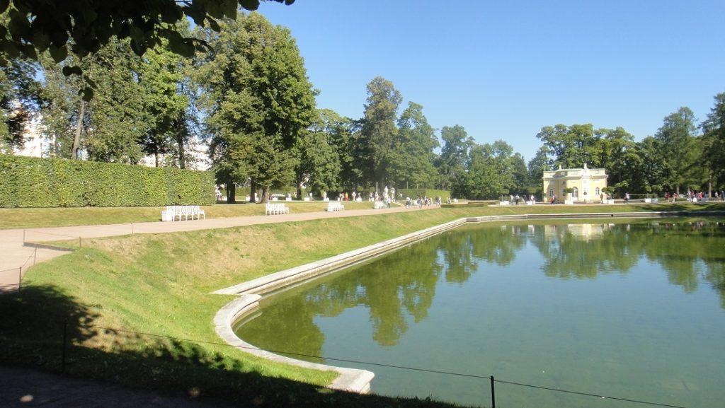 凱薩琳宮周圍的庭園