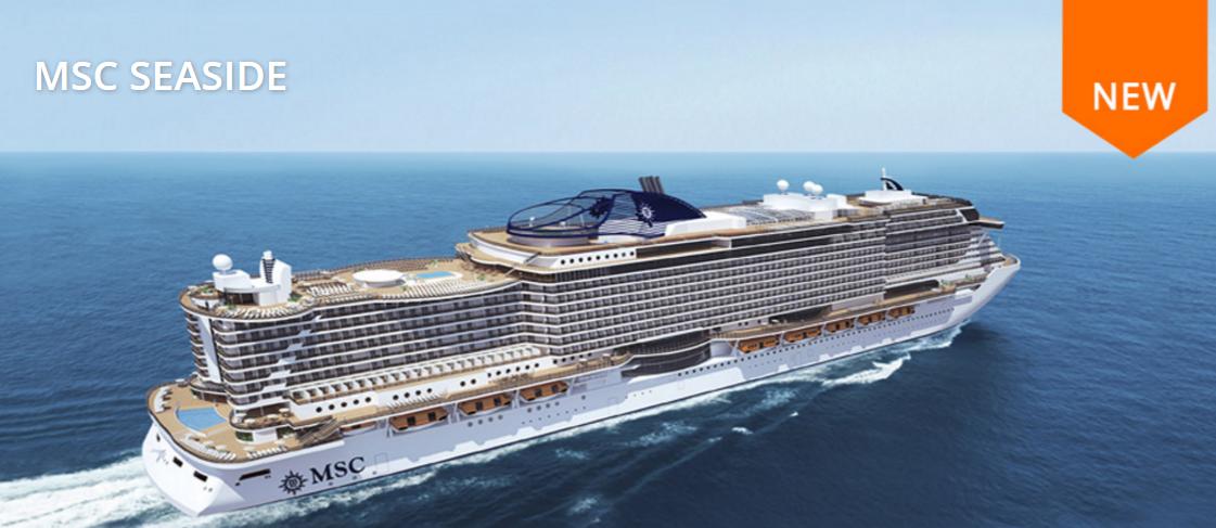MSC 在2017年有兩艘新船MSC seaside 和 meraviglia 加入船隊,seaside 主跑加勒比海,meraviglia主跑地中海線