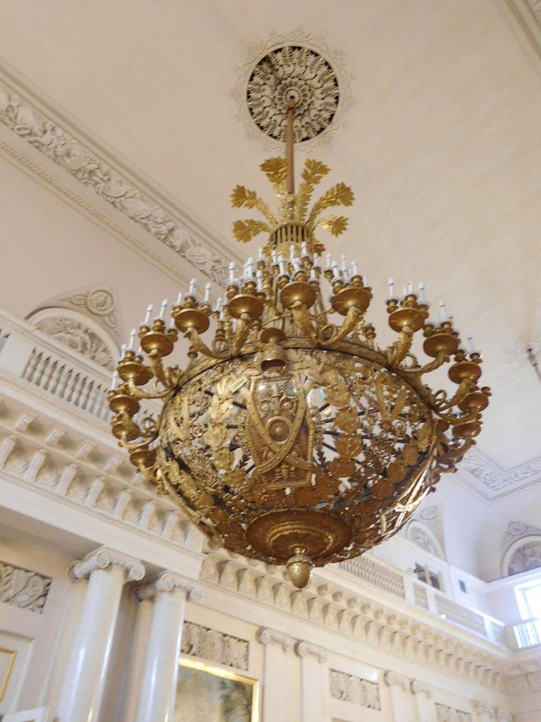 冬宮內的裝飾盡顯雍容