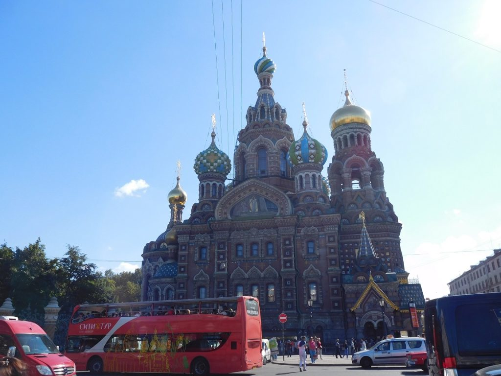 church on the spilled blood 教堂