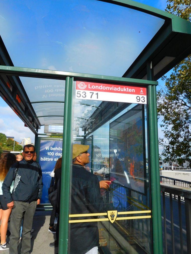 公車站有公車路線資訊