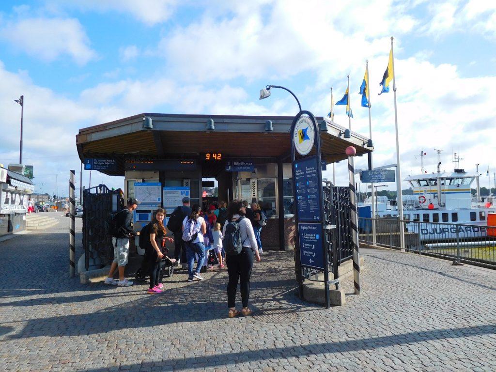 舊城區前的渡船站