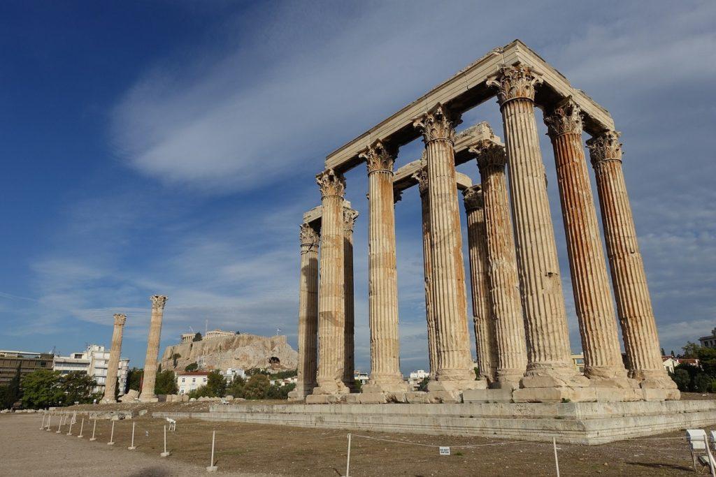 olympieion 奧林匹亞宙斯神殿