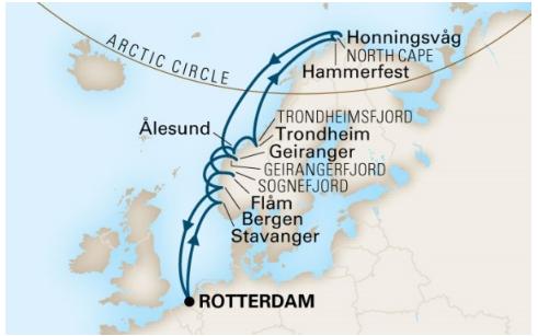 完整挪威路線