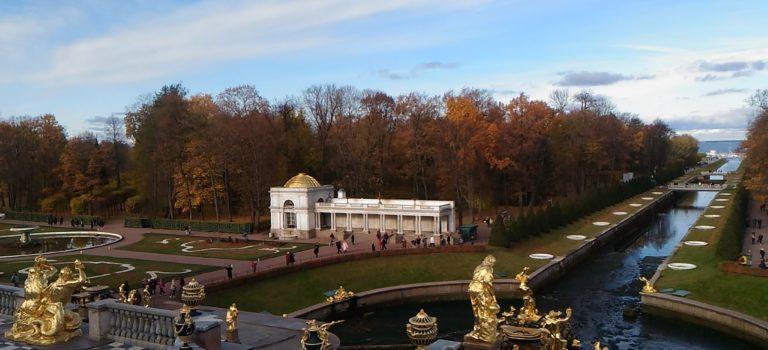 聖彼得堡的金秋之美~~港口交通及電子簽證分享
